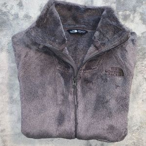 The North Face Jackets & Coats - The North Face High Neck Mauve Fleece Full Zip XS